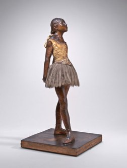 Wax sculpture by Edgar Degas, The Little Dancer Aged Fourteen, 1881
